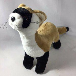"Weasel 10"" HugFun International  Plush Stuffed"